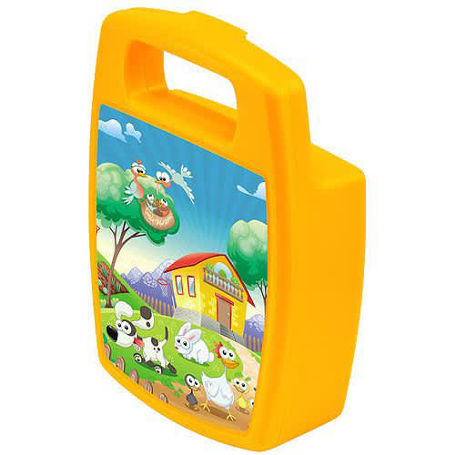 Promotional Handled Lunch Boxes for School Merchandise