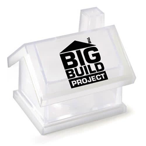 Promotional House Shaped Money Box for Budget Friendly Marketing
