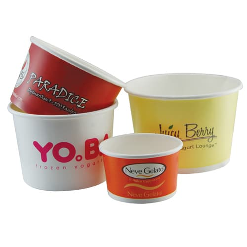 Promotional Ice Cream Pots for Catered Events
