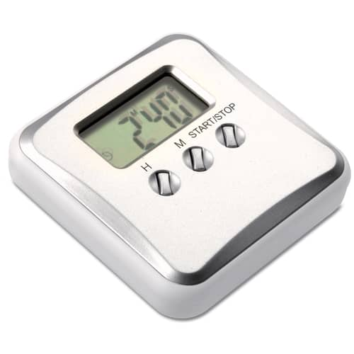 Kitchen Timer Magnets in Silver