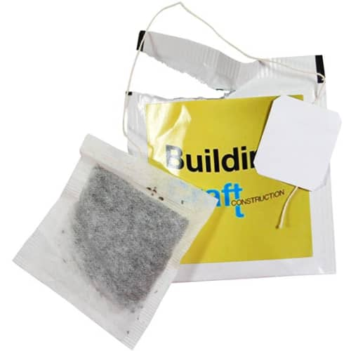 Promotional Labelled Tea Bags council merchandise