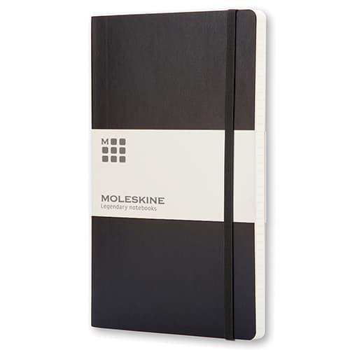 Large Moleskine Soft Cover Ruled Notebook