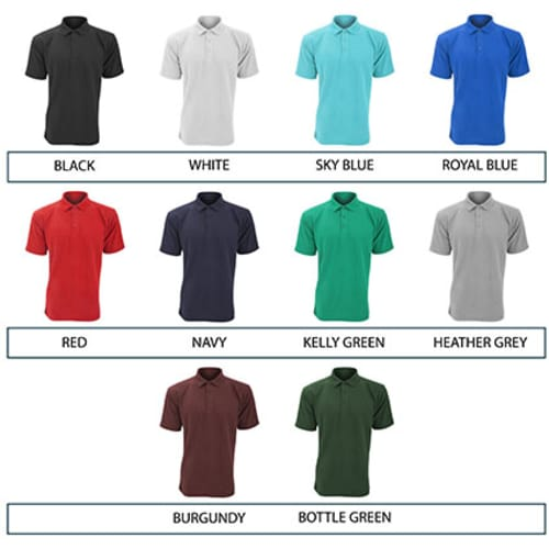 abe4d7b2d Lightweight Pique Polo Shirts   Personalised Work Shirts ...
