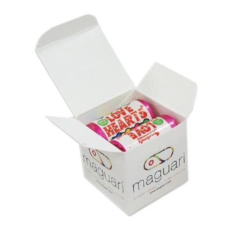 Promotional Love Heart Cubes for Valentines Merchandise