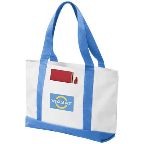 Madison Tote Bags in White