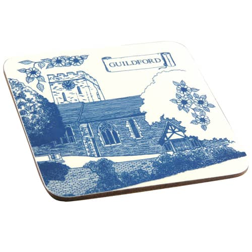 Promotional Melamine Coasters for Desktop Advertising