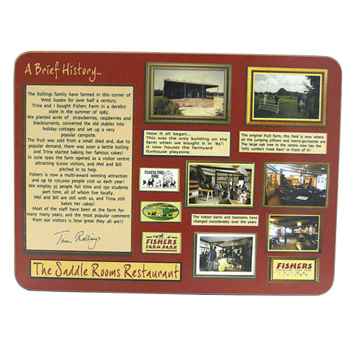 Promotional Melamine Placemats for Business Merchandise