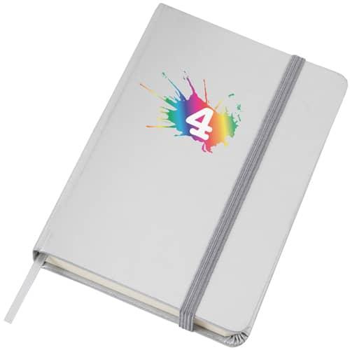 Promotional Metallic Hardback Pocket Notebooks for offices