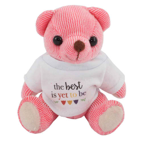 Mini Candy Bears in T Shirts in Strawberry