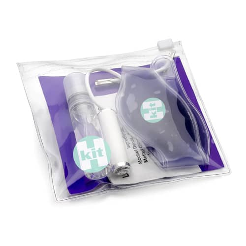 Mini Hang Over Kits in Purple