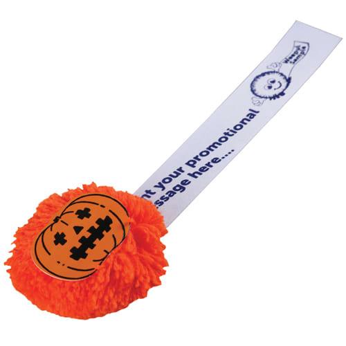 Mophead Pumpkin Logobugs in Orange