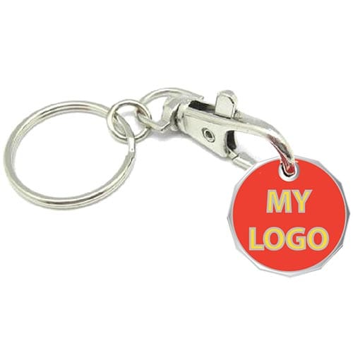 Promotional New Shape Trolley Coins for shops