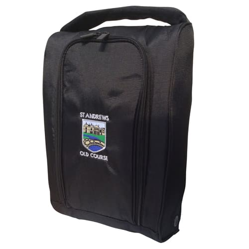 Nylon Shoe Bags in Black