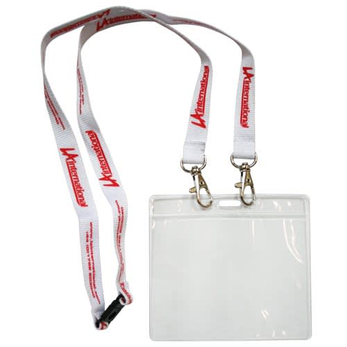 Open End 15mm Lanyard with Pass Holder