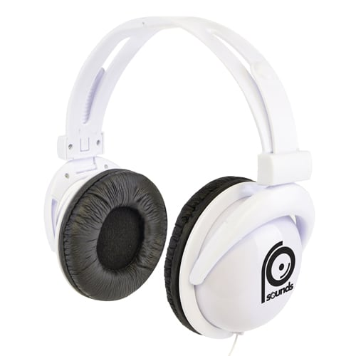 Overhead Headphones in White