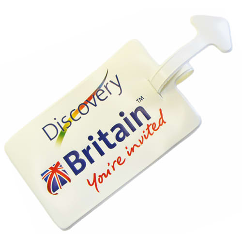 Promotional PVC Luggage Tags for Travel Campaigns