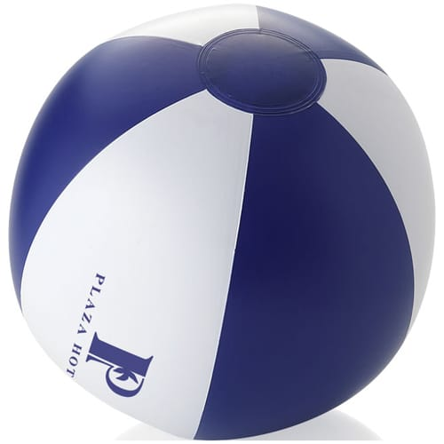 Palma Solid Beach Balls in Blue/White