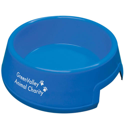 Pet Food Bowls in Blue