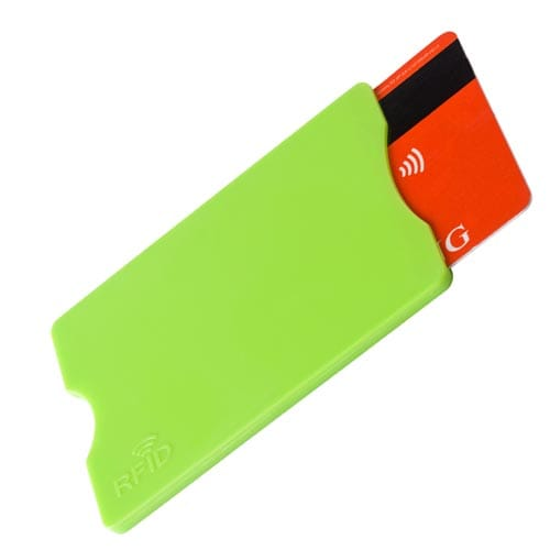 Promotional Plastic RFID Card Protectors for Business Gifts
