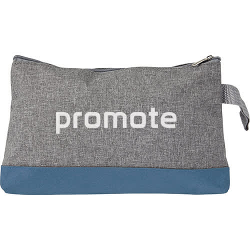 Promotional Poly Canvas Toiletry Bags for Campaign Logos