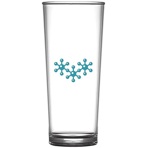 Polycarbonate Pint Glasses in Clear