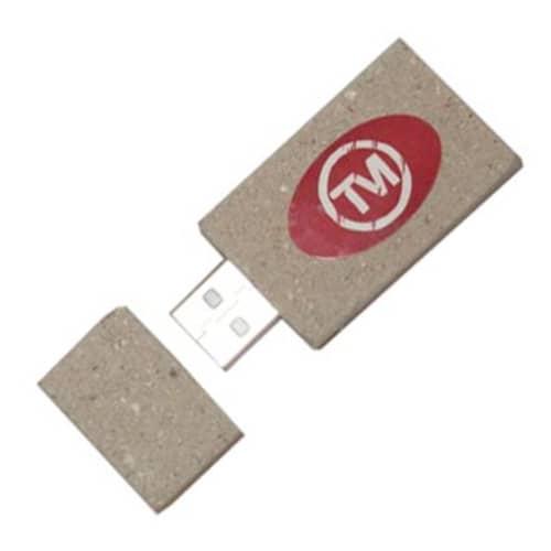 Recycled Newspaper USB Flashdrive