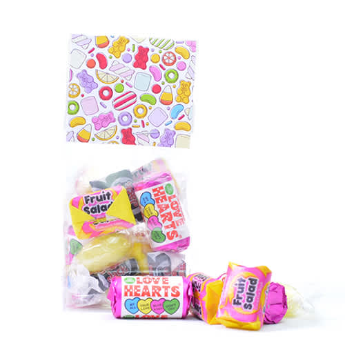 Retro Sweet Header Card Bags