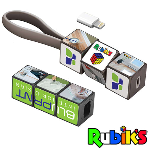 Rubiks Charging Cable Sets