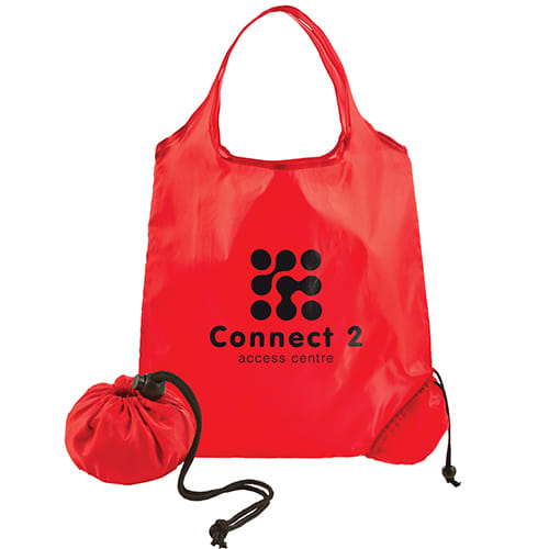 Promotional Scrunchy Shopping Bags for shop merchandise