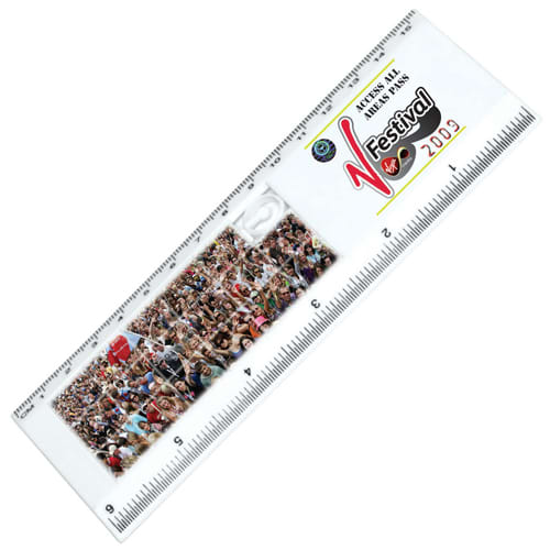 Sliding Puzzle Rulers in White