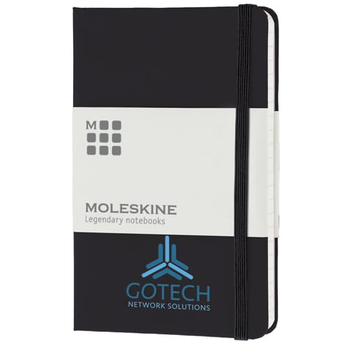 Pocket Moleskine Hardback Ruled Notebook