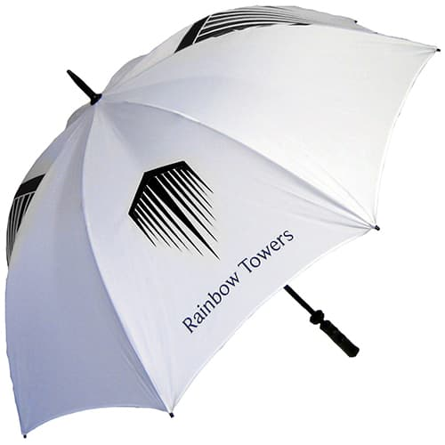 Promotional Spectrum Sport Golf Umbrellas with logos