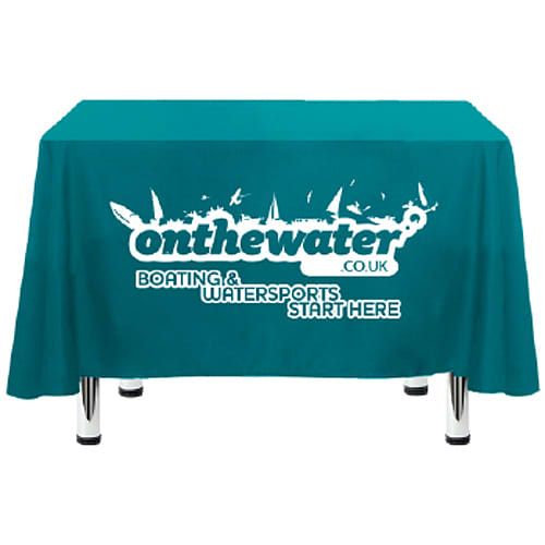 Promotional Square Polyester Tablecloths for Events