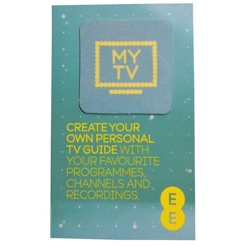Promotional Sticky Screen Cleaners with company designs
