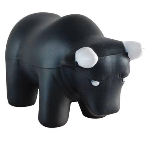Stress Bull in Black