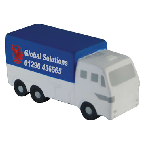 Stress Cargo Truck in Off White/ Blue