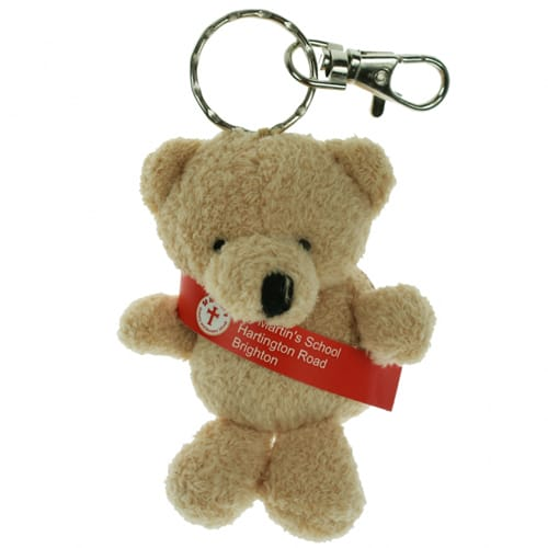 Toby Bear Keyrings with Sash