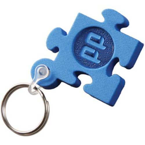 Any Shape Embossed Foam Keyrings