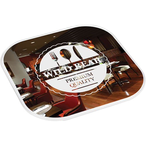 Promotional Ultimat Plastic Coasters for bar merchandise