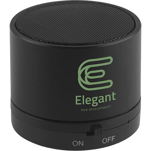 Upbeats Bluetooth Speakers in Black