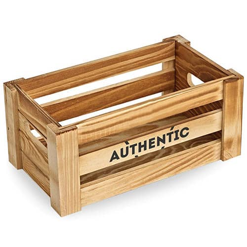 Wooden Crates in Natural