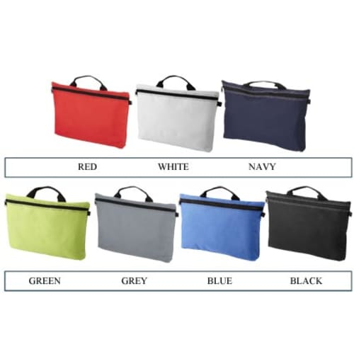3519bdfdf4 Branded conference bags for council merchandise colours