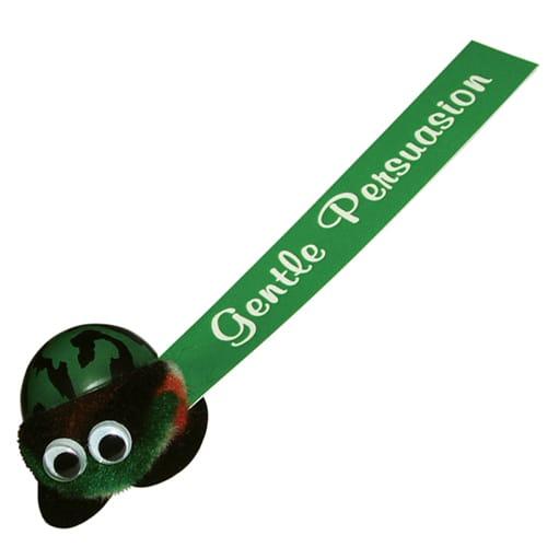 Army Logobugs in Green