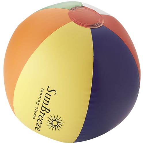Promotional Beach Balls with company logos