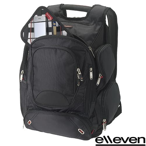 Elleven Computer Backpacks in Black