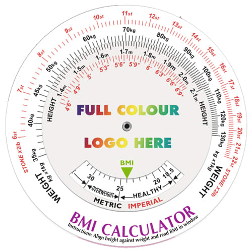 BMI Calculating Data Discs