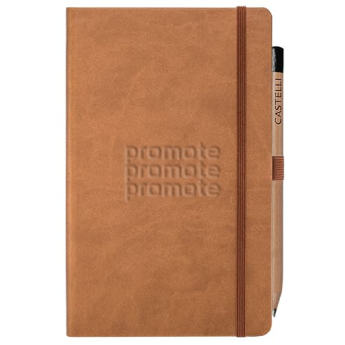 Promotional Ivory Tucson Medium Notebooks university gifts