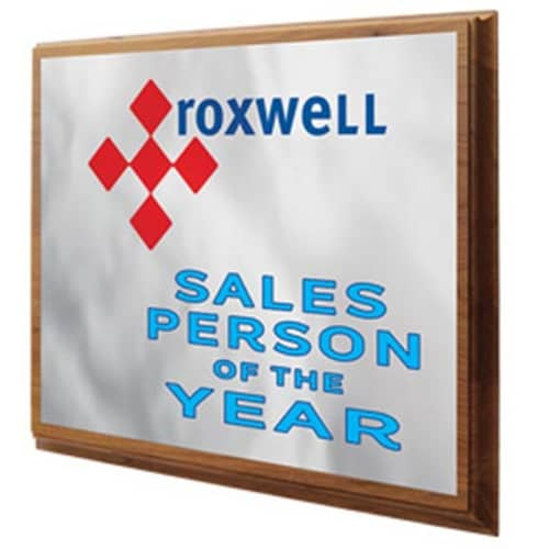 Promotional Wooden Oblong Plaque for Event Gifts