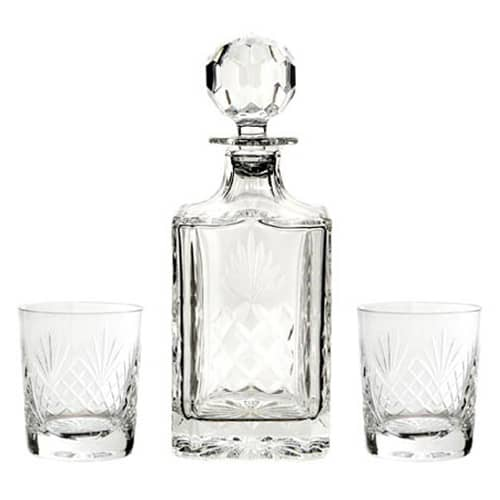 Promotional Large Crystal Decanter and Glass Sets for Luxury Corporate Gifts