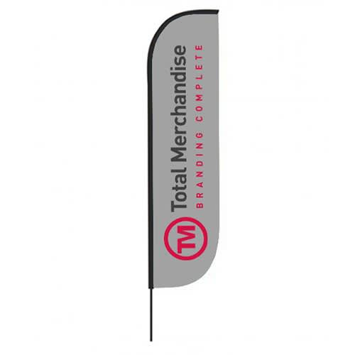 These printed Crest Banner Flags are ideal for generating awareness for your business.